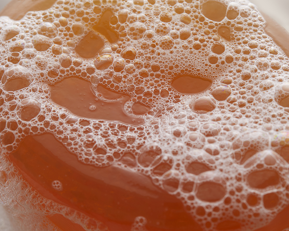 Still Life picture of soap and bubbles