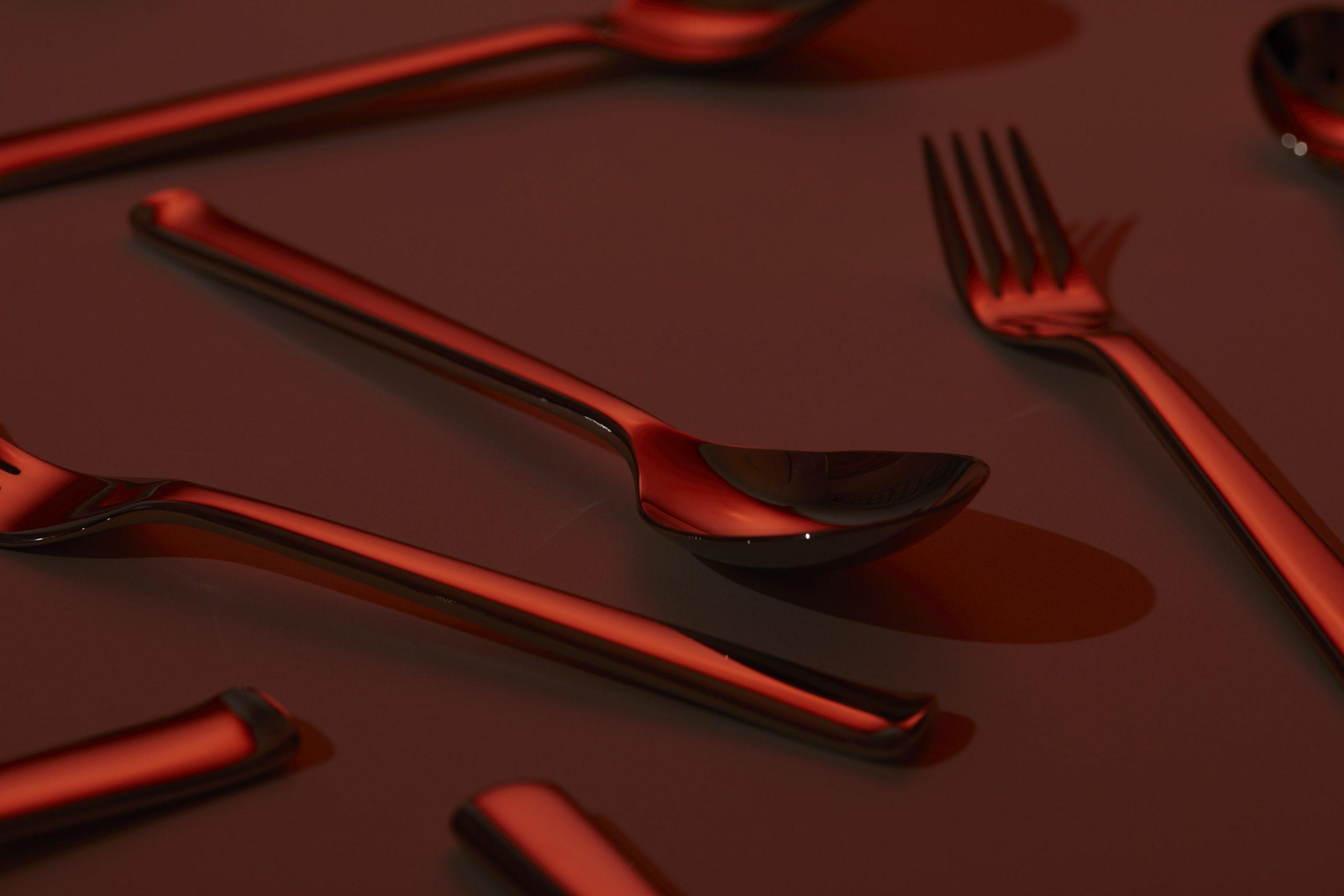 still life photograph of cutlery